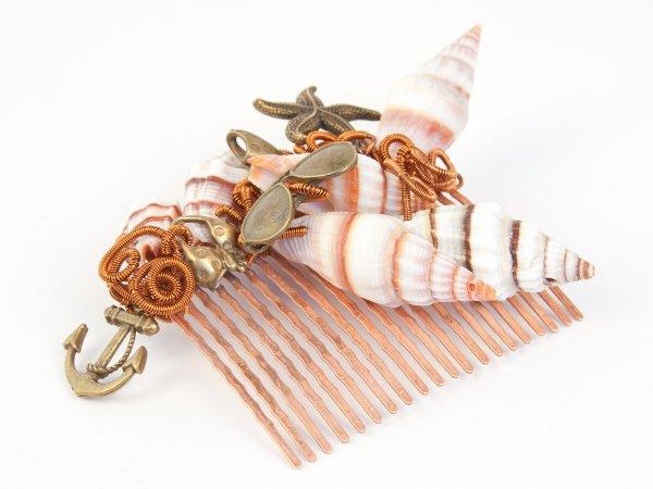 Гребень из ракушек Морской
