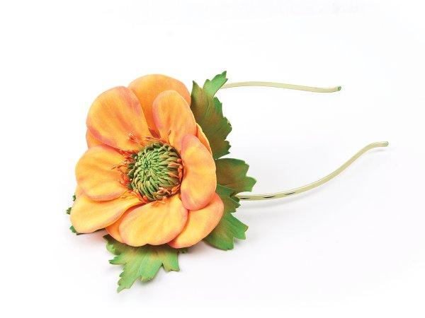 Ободок с Цветком из фоамирана