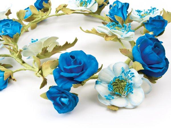 Веночек на голову из цветов