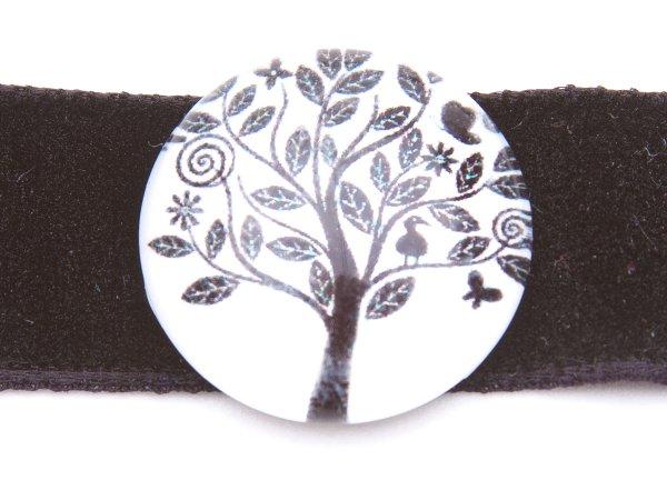 Колье-ошейник с деревом
