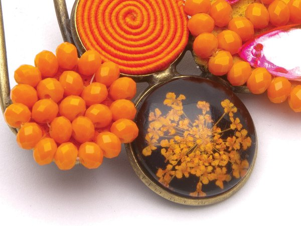 Гребень оранжевый