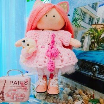 """Кукла """"Парижанка"""""""