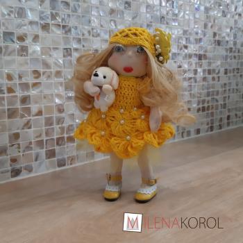 Кукла дама с собачкой