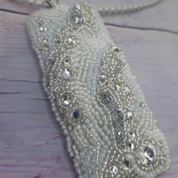 Кулон с кристалами swarovski
